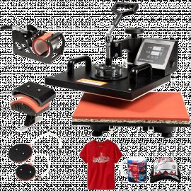 HomCom 12- x 12- 8 in 1 Digital Heat Transfer Press Machine