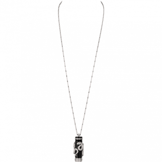 High Jewelry visible pendant watch