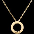 Love necklace (3 diamonds)