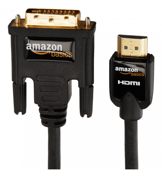 AmazonBasics HDMI to DVI Adapter Cable - 6 Feet